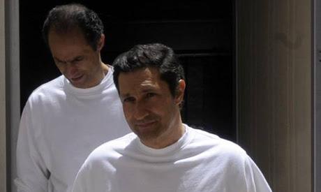 Gamal Mubarak and Alaa Mubarak