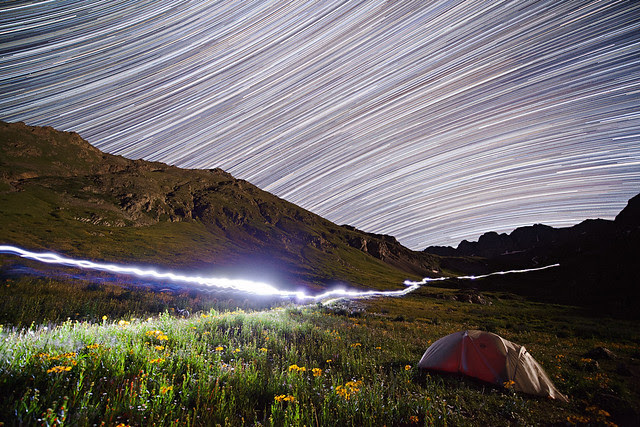 American Basin Star Trails