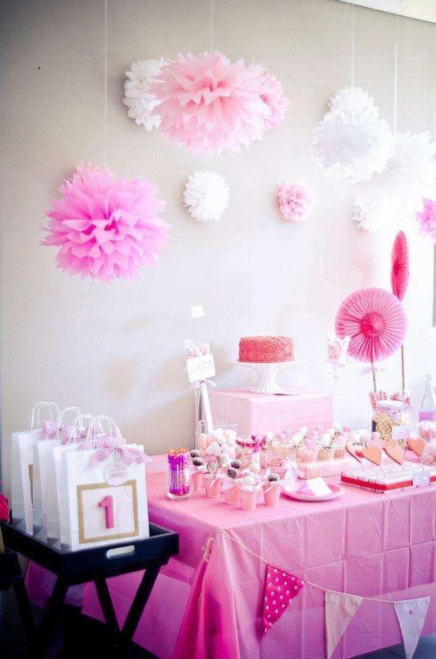 Bridal Shower Pretty In Pink Birthday Party Ideas 2186972 Weddbook
