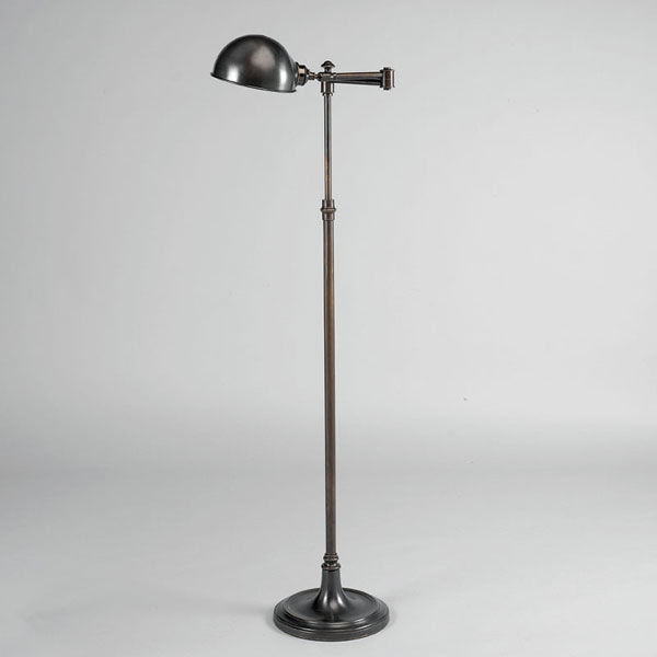 Traditional bronze floor lamp (adjustable) - DINMORE - VAUGHAN