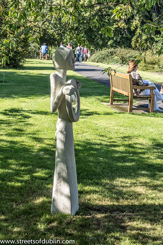 The Bewitcher by Kate Goodhue: Sculpture In Context 2012 at the National Botanic Gardens by infomatique