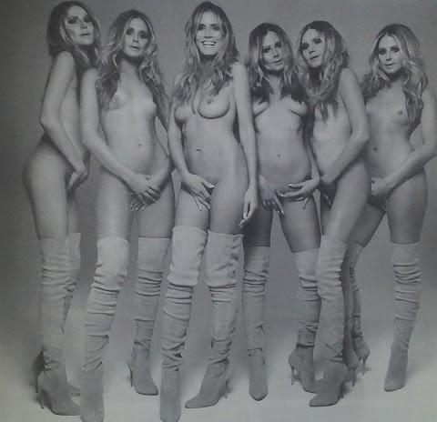 Heidi Klum Nude Pics (@Tumblr) | Top 12 Hottest