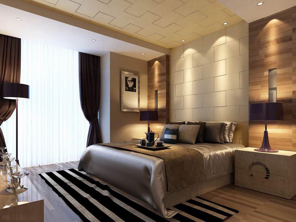downlit textured wall bedroom luxury china  Interior