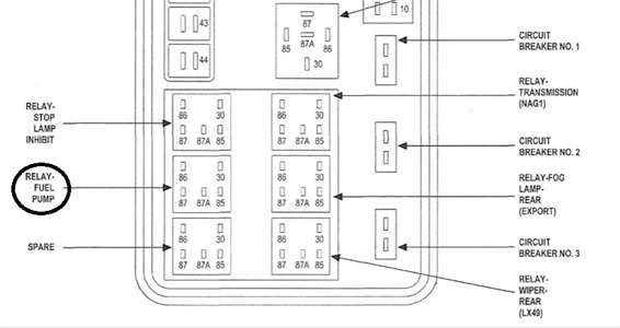 Diagram Of Chrysler 300 Touring Fuse Box In Trunk 2007