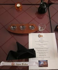 Sake Pairing Dinner at Japon Bistro