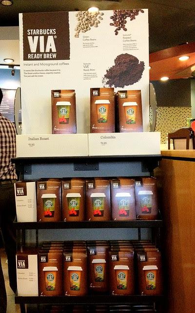 Have Starbucks Anywhere Via Ready Brew