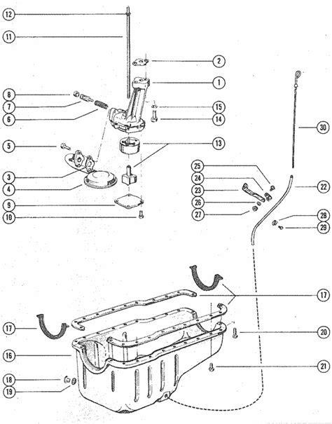 MerCruiser 888 (2 Barrel.) Ford 302 V-8 1971-1977 Oil Pump