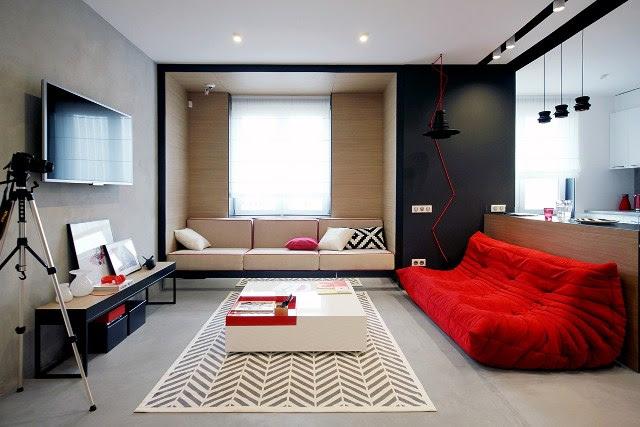 Desain Ruang Keluarga Minimalis 6 Desain Rumah Minimalis
