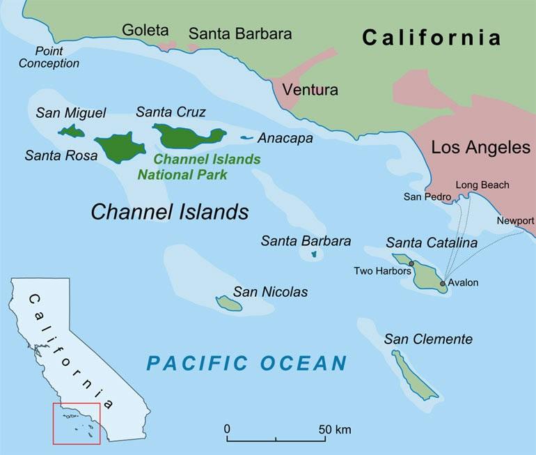 Τα οκτώ Νησιά της Μάγχης