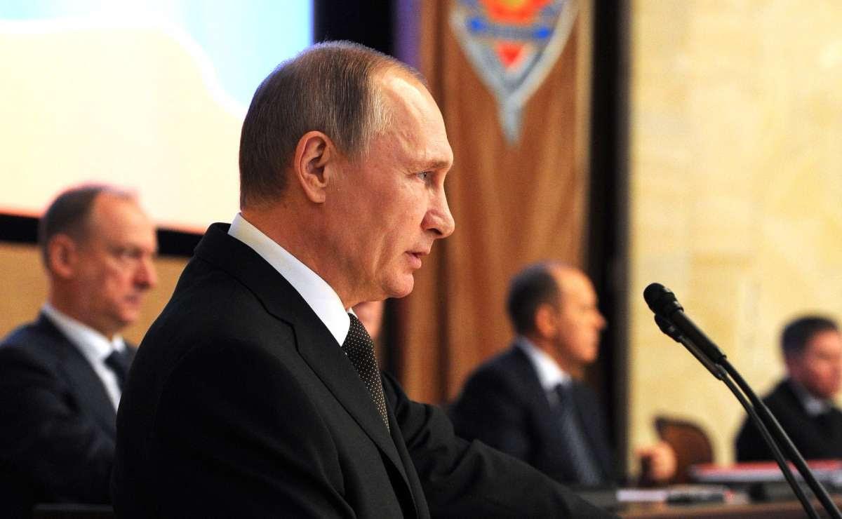 Выступление Владимира Путина на коллегии ФСБ России