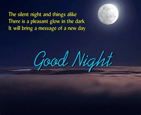 The Silent Night  Free Good Night eCards, Greeting Cards