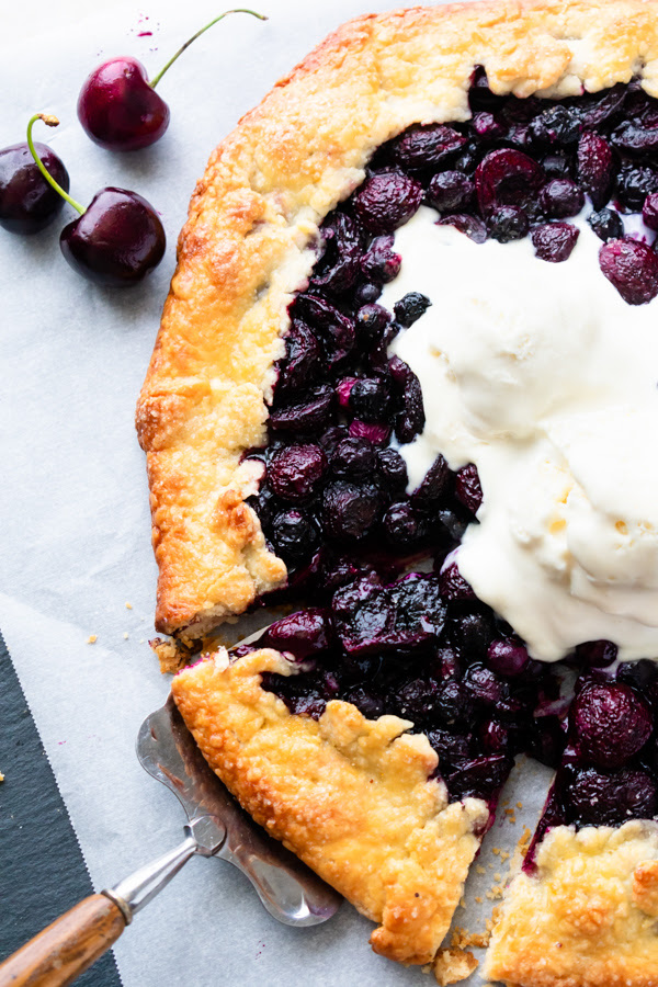 Easier as well as quicker to delineate together than a pie classic fruit galette