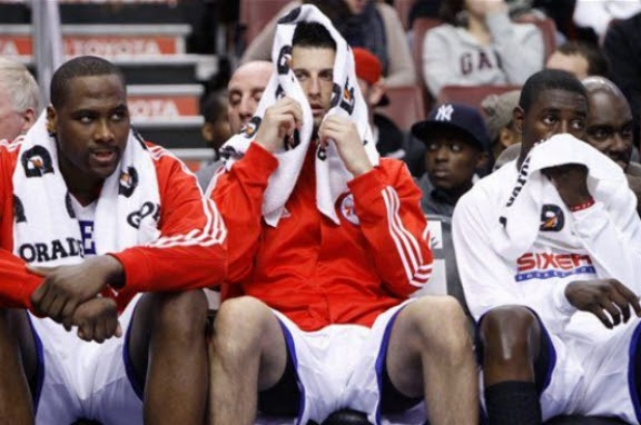 Sad Philly bench