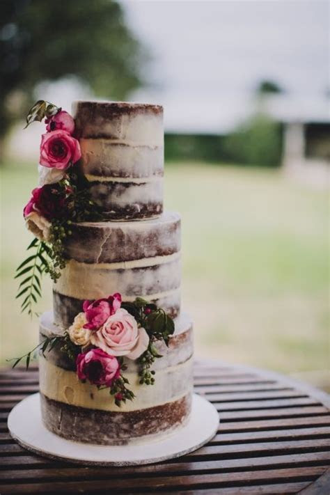 410 best images about Naked cakes on Pinterest   Fresh