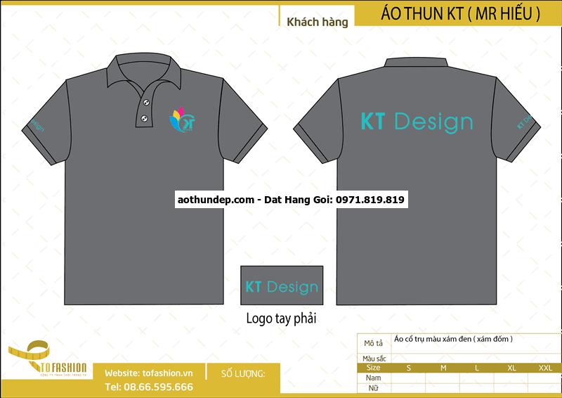 Đồng phục áo thun Gara ô tô Thành Kiều, Long Hải, Long Điền, BRVT