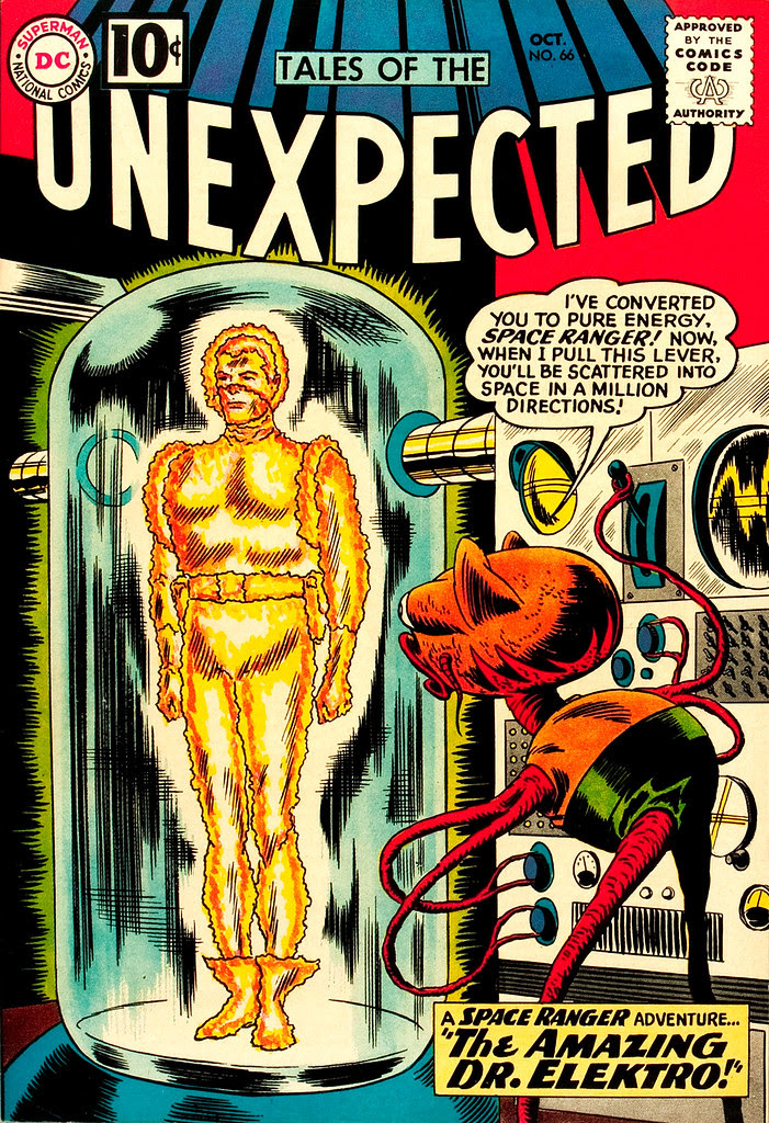 Tales of the Unexpected #66 (DC, 1961) Bob Brown cover