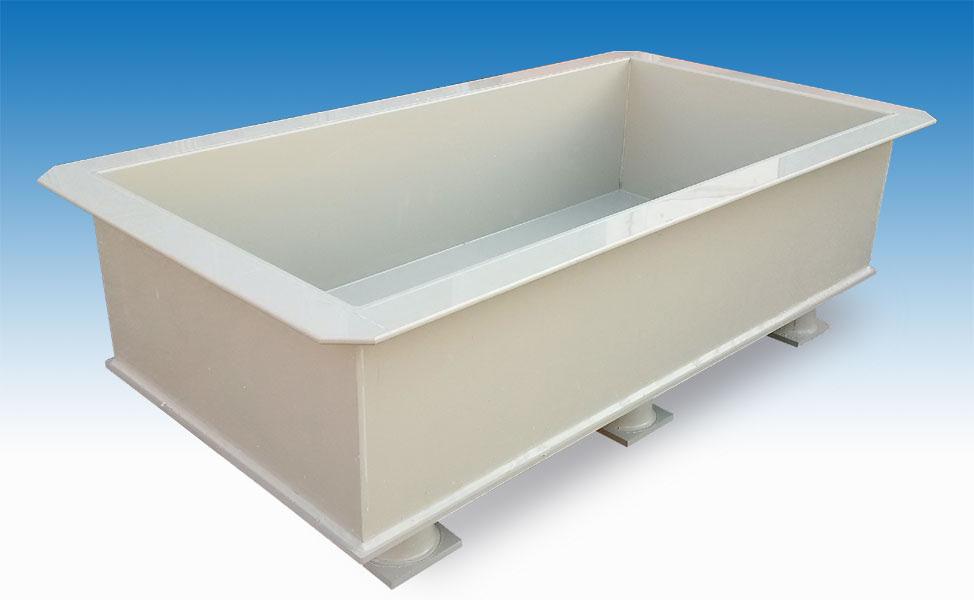 vasche e rivestimenti in PVC - PE - PP