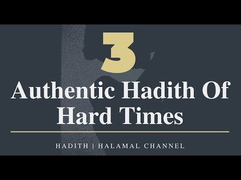 3 Authentic Hadith: Its Bounties, And Its Inhabitants