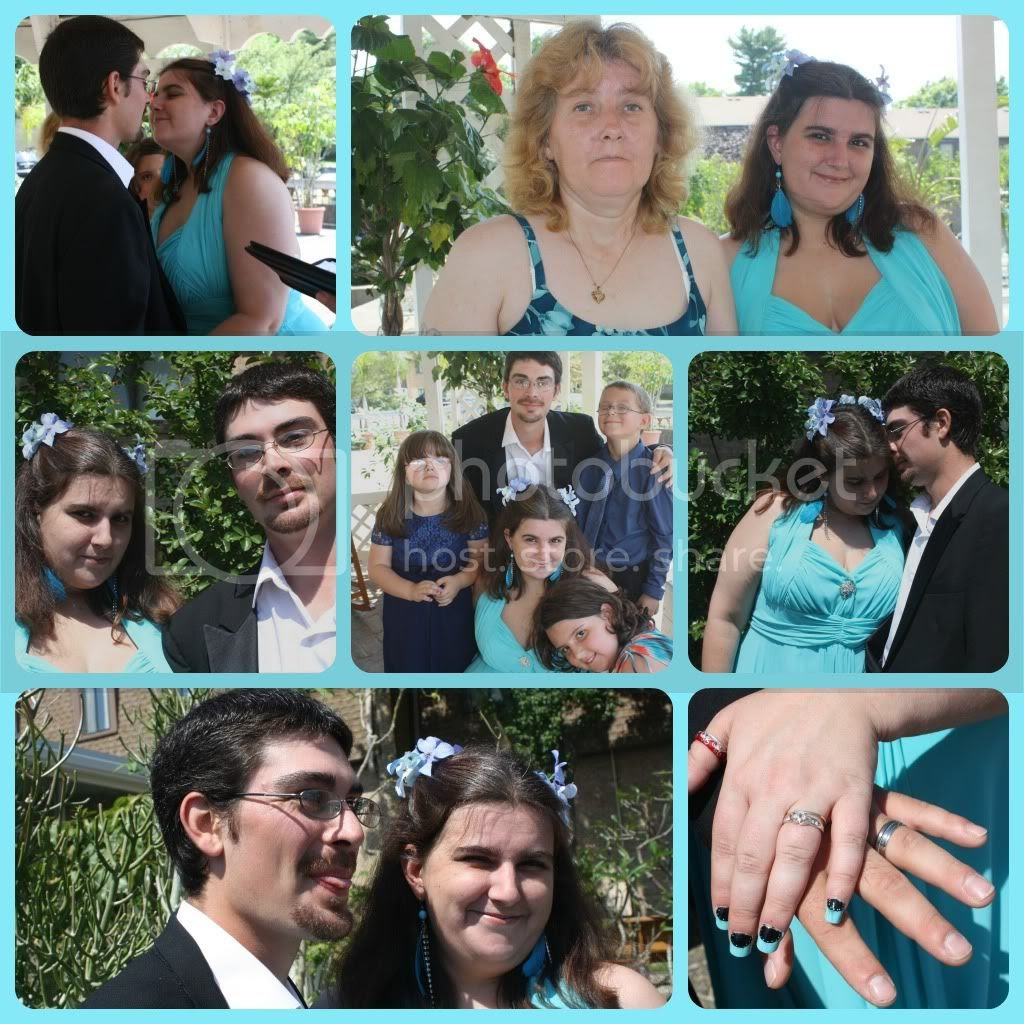 Wedding Day collage