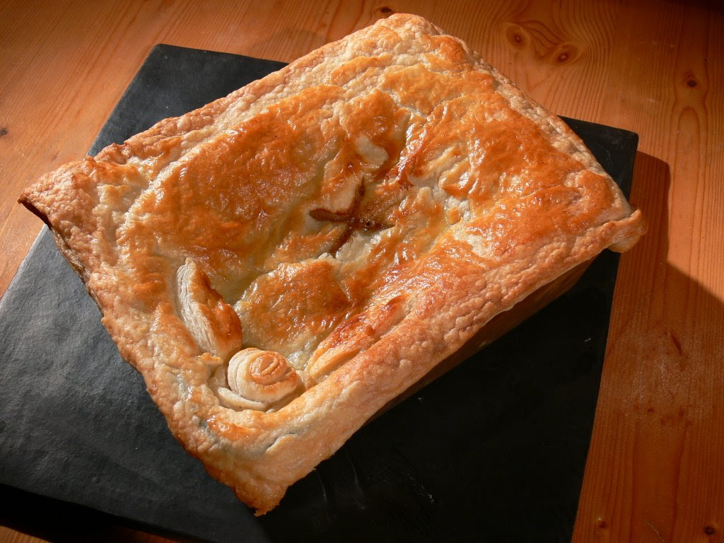 Steak and wild mushroom pie - Gastronomy Domine
