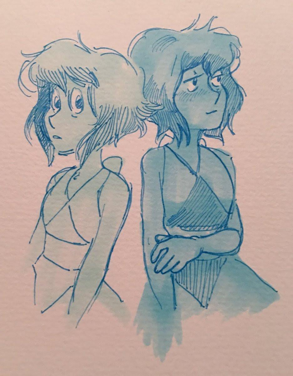 lapis marker sketch
