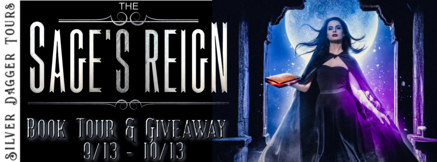 Book Tour Banner for young adult fantasy novel The Sage's Reign from The Final Lesson series by Shakyra Dunn with a Book Tour Giveaway