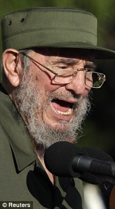 Former Cuban leader Fidel Castro, speaking on Friday, warned of nuclear war in his first speech before the Cuban public since falling ill in 2006