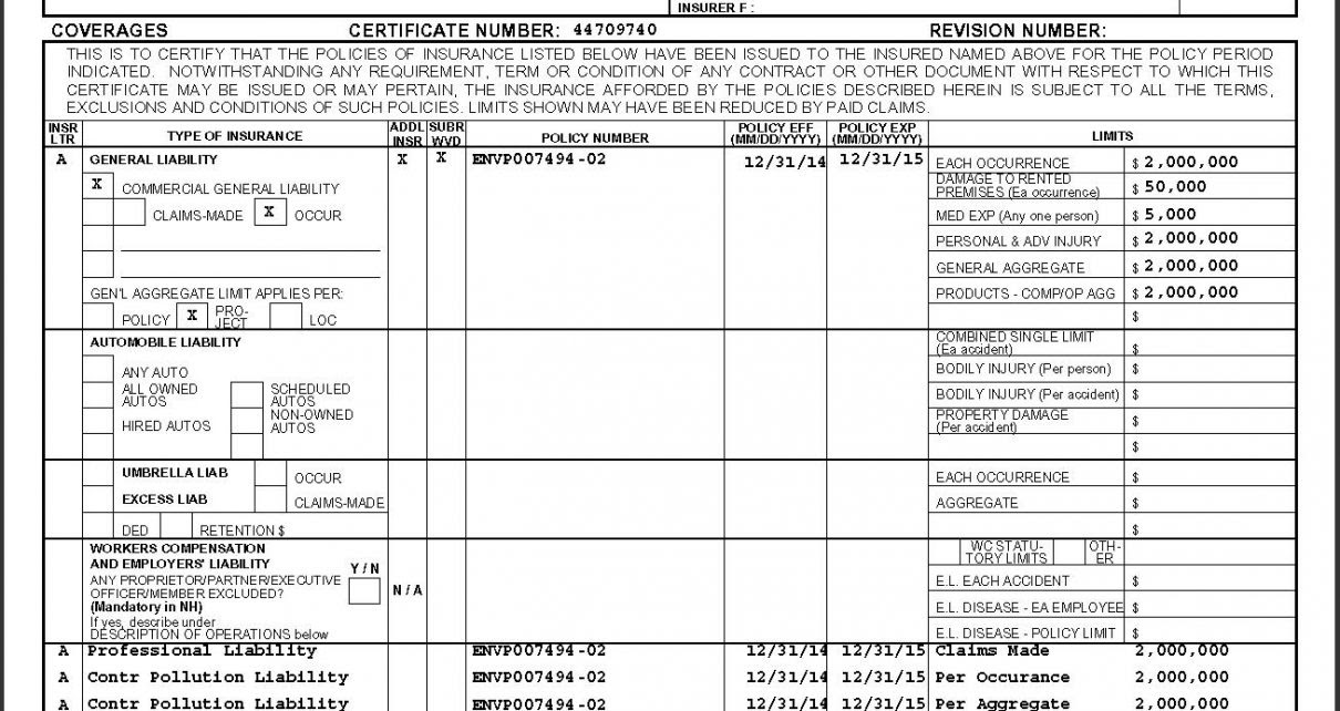 Contractors general liability insurance - insurance