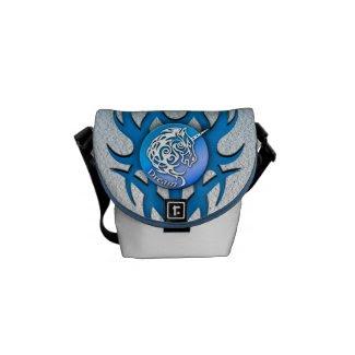 Unicorn (Dream) blue Courier Bag