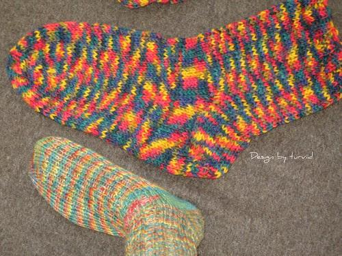 Felted socks