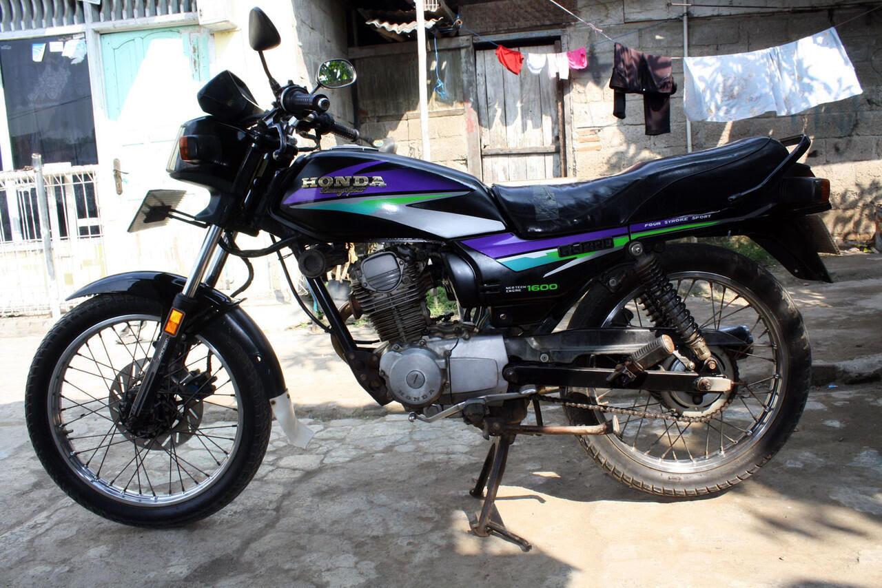 Sejarah Perjalanan Honda GL Pro Hingga Megapro Di Indonesia KASKUS