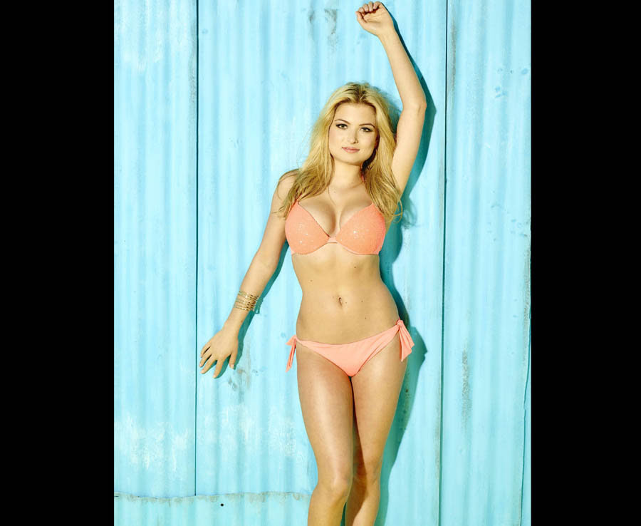 Miss Great Britain, Zara Holland, who is hoping to find romance as a contestant on the new series of ITV's Love Island