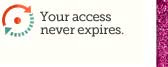Your access never expires.