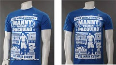 Fight Night Tee (Blue)
