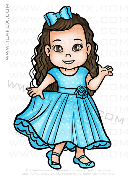 desenho personalizado criança, desenho menina, caricatura desenho, caricatura personalizada, by ila fox