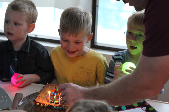 Jonathan's Fifth Birthday