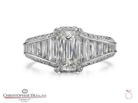 Christopher Designs Crisscut Emerald Diamond Ring ? SBEJ
