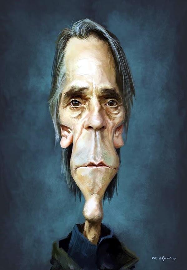 Portrait Caricatures Of Famous Peoples (33)