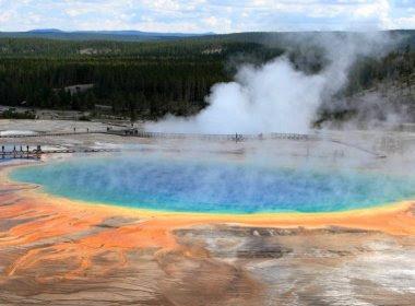 Corpo de homem é dissolvido ao cair em água termal de parque nos Estados Unidos
