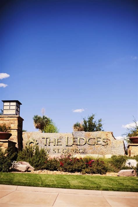 The Ledges Wedding St George Utah   Utah Wedding