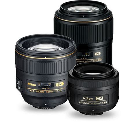 Portrait & Wedding Photography Lenses   Nikon