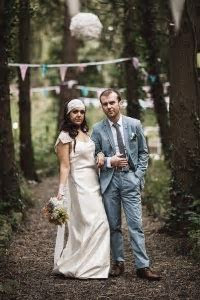 Budget Bohemian Wedding in Ireland: Rebeka & Gerard · Rock