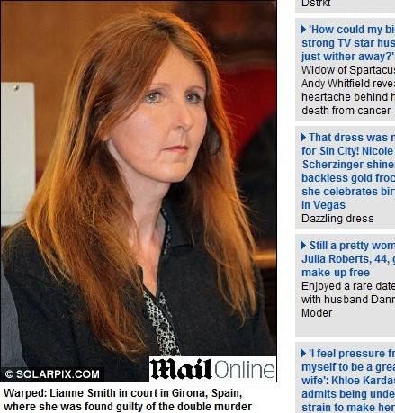 Lianne foi condenada à cadeia