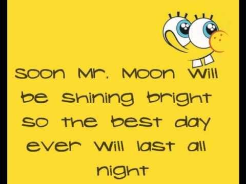 Best Day Ever Spongebob Lyrics