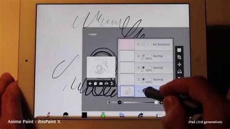 anime paint ibispaint  drawing app test  ipad air