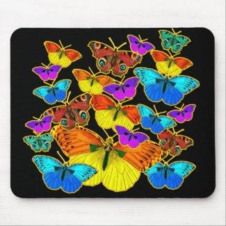 Butterflies! Butterflies! zazzle_mousepad