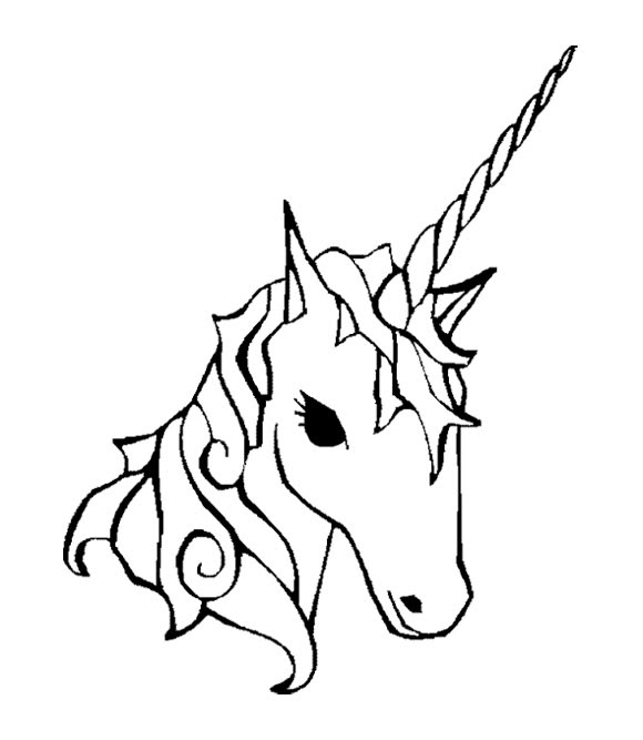 Unicorn Easy Drawing at GetDrawings | Free download