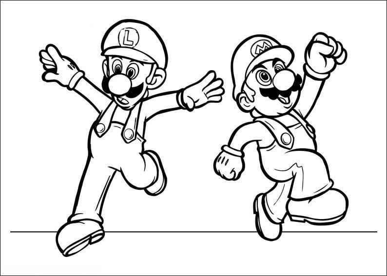 Groß Super Mario Brüder Wii Malvorlagen Galerie - Ideen färben ...