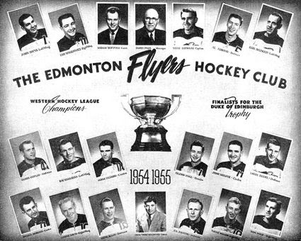 1954-55 Edmonton Flyers team, 1954-55 Edmonton Flyers team