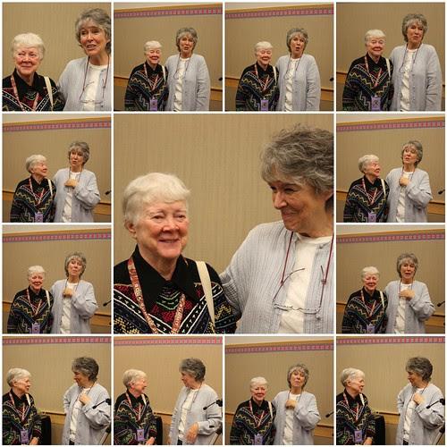 Barbara Walker and Meg Swansen